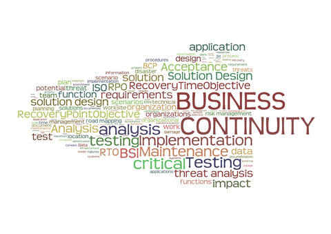 need for business continuity plan ( bcp) - a case study