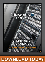 Credit Union backup